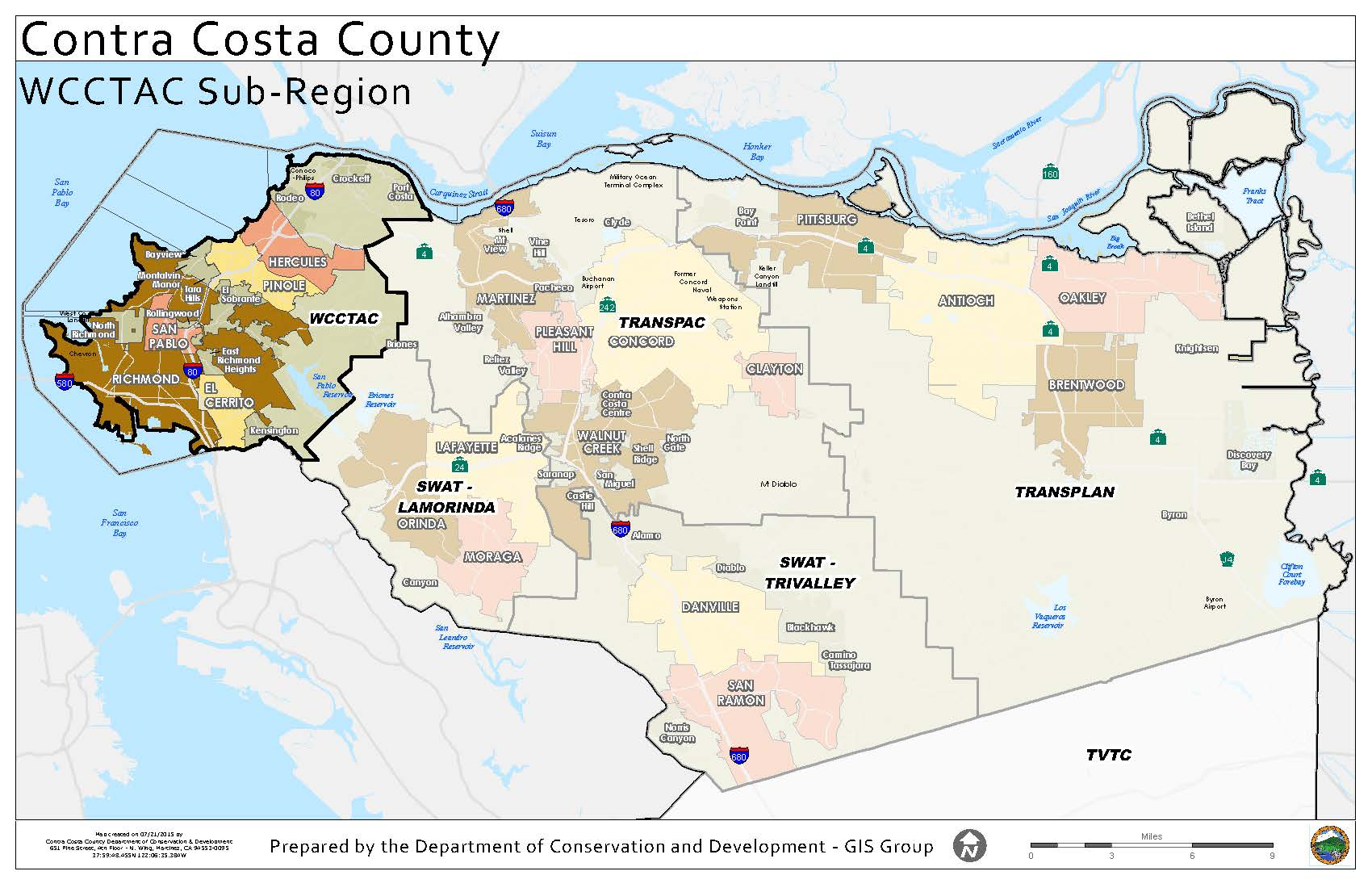Image of: Who We Are West Contra Costa Transportation Advisory Committee
